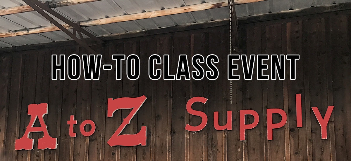 How-To Class Event